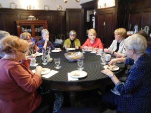 Women enjoying a gathering at University Women's Club Winnipeg