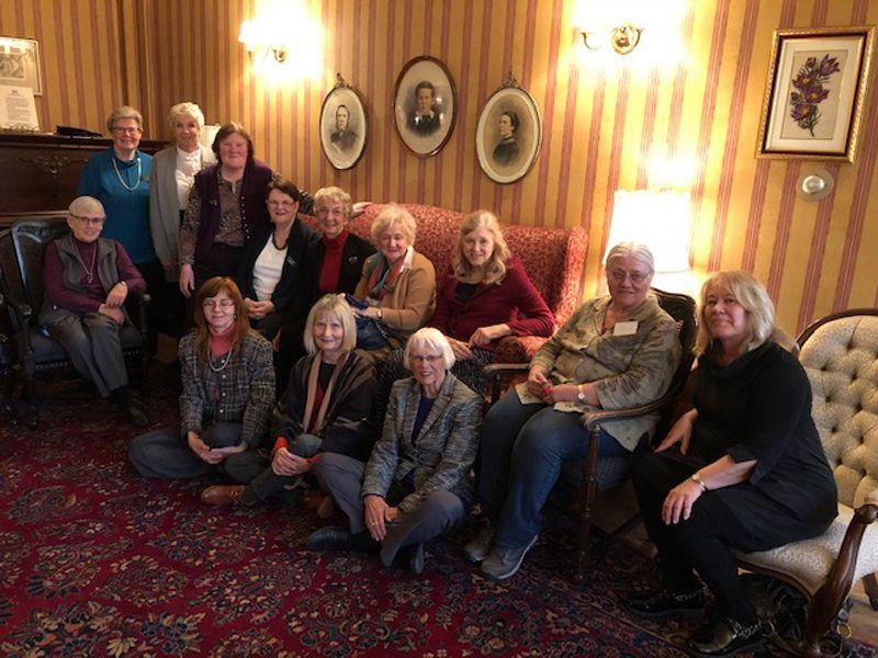 University Women's Club Winnipeg assembled members