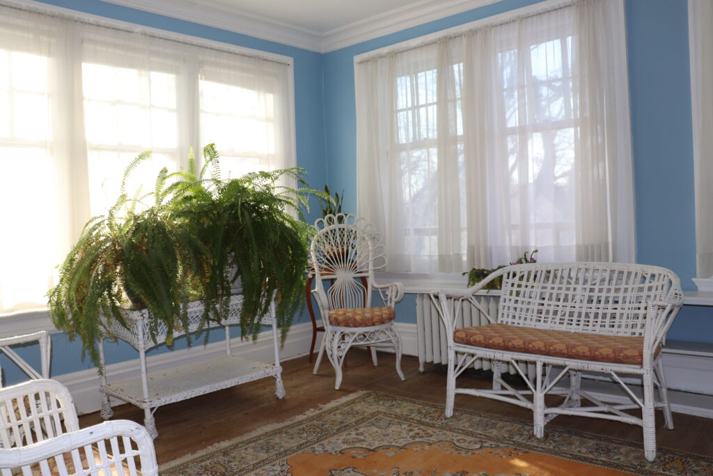 Sun Room at Ralph Connor House