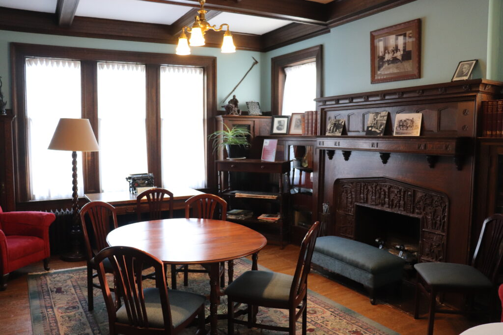Original office space at Ralph Connor House