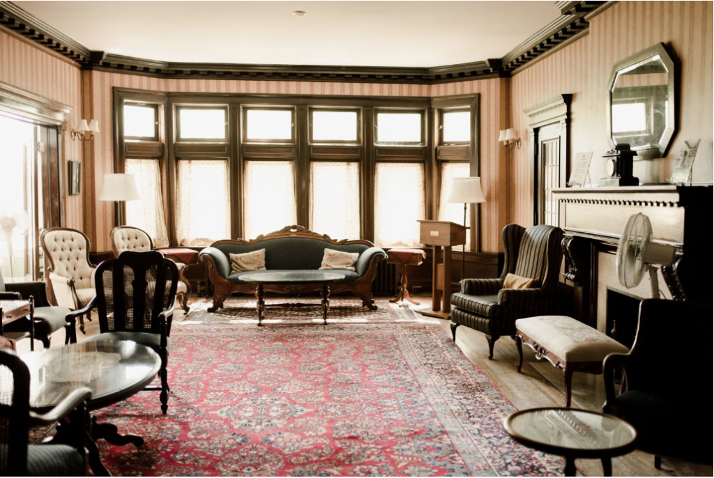 Drawing Room at Ralph Connor House