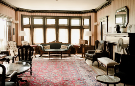 Ralph Connor House living room